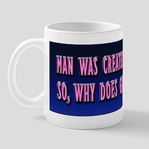 God's Nipples Mug