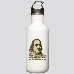 Franklin On Security Stainless Water Bottle 1.0L