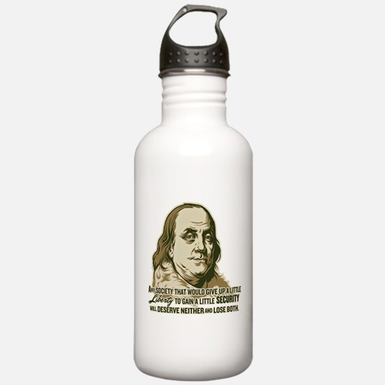 Franklin On Security Water Bottle