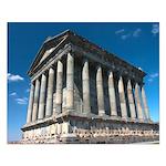 Armenian Garni Temple Small Poster