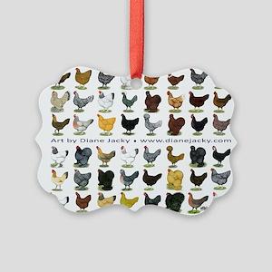 48 Hens Promo Picture Ornament