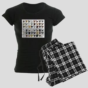 48 Hens Promo Women's Dark Pajamas