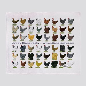 48 Hens Promo Throw Blanket