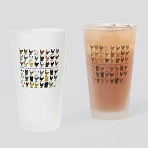 48 Hens Promo Drinking Glass