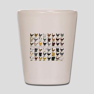 48 Hens Promo Shot Glass