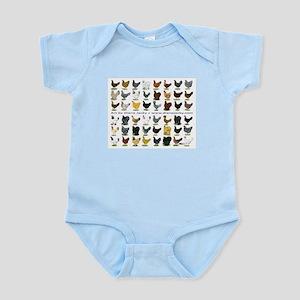 48 Hens Promo Infant Bodysuit