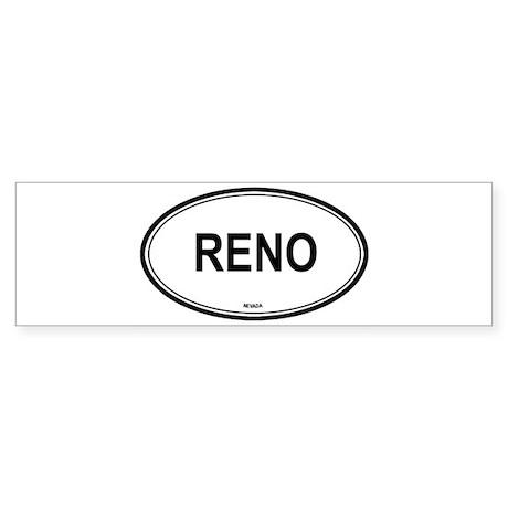 Reno (Nevada) Bumper Sticker