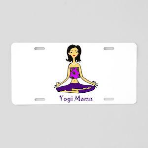 Yogi Mama Aluminum License Plate