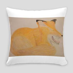 Sleepy Fox Everyday Pillow