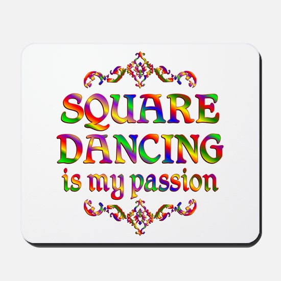 Square Dancing Passion Mousepad