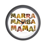 Marra Mamba Mama Wall Clock