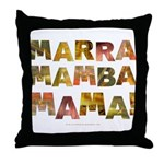 Marra Mamba Mama Throw Pillow
