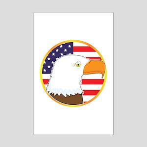 Eagle Medallion Mini Poster Print