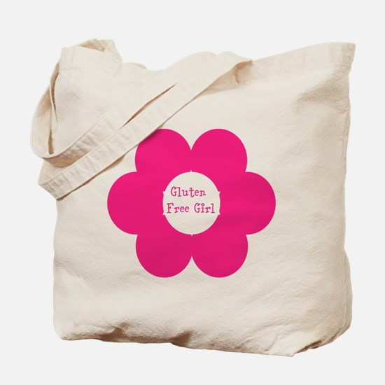 Gluten Free Girl Tee Tote Bag
