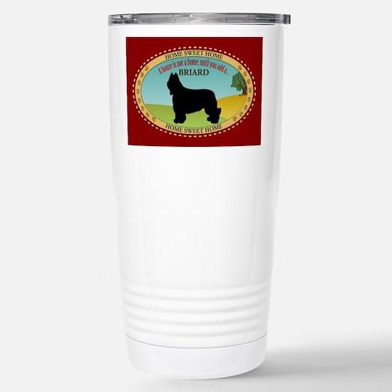Briard Stainless Steel Travel Mug
