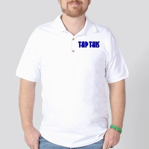 TAP THIS (Blue) Golf Shirt