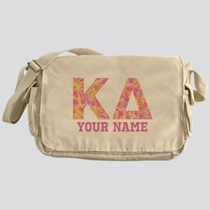 Kappa Delta Tropical Letters Persona Messenger Bag