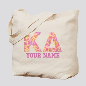 Kappa Delta Tropical Letters Personalized Tote Bag