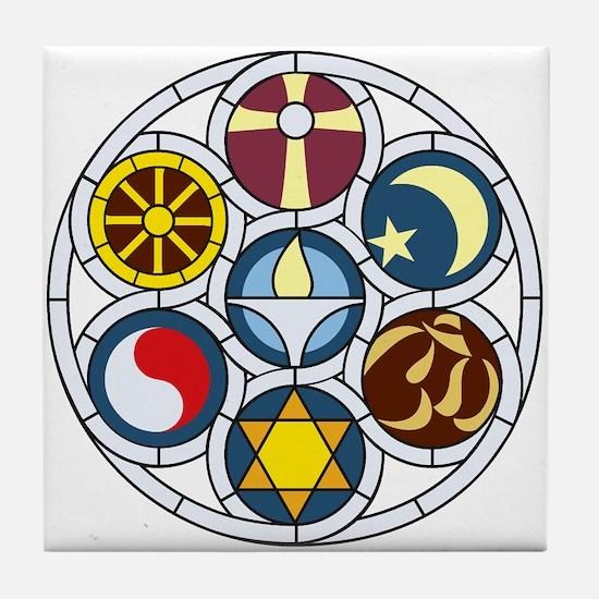 Cute Uu chalice Tile Coaster