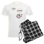 Cow Hugger Men's Light Pajamas