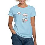 Cow Hugger Women's Light T-Shirt