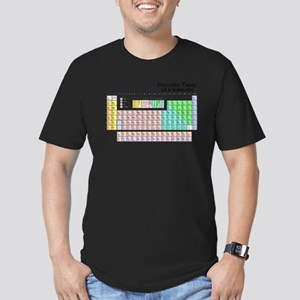 periodictable Men's Fitted T-Shirt (dark)