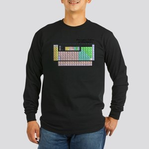 periodictable Long Sleeve Dark T-Shirt