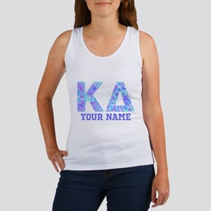 Kappa Delta Tropical Letters Pers Women's Tank Top