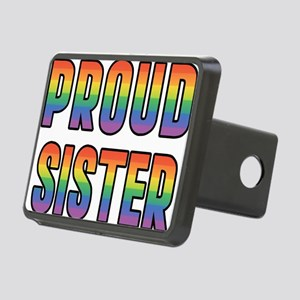 PROUD-SISTER_TR Rectangular Hitch Cover