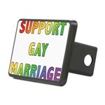 SUPPORT_GAY_MARRIAGE_1 Rectangular Hitch Cover