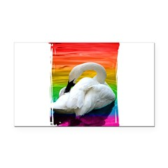 rbw-swan_tee.png Rectangle Car Magnet