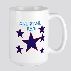 All Star Dad Large Mug