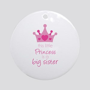 This little princess Ornament (Round)