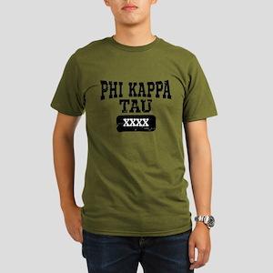 Phi Kappa Tau Athleti Organic Men's T-Shirt (dark)