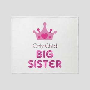 Big sister Throw Blanket