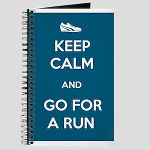 Keep Calm and Go For a Run Journal