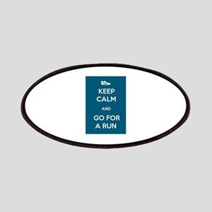 Keep Calm and Go For a Run Patches