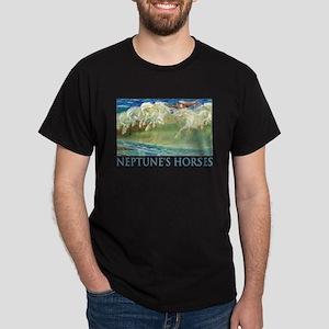 Neptune's Horses Dark T-Shirt