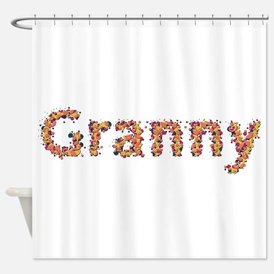 Granny Fiesta Shower Curtain