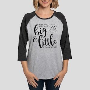 Kappa Delta Big Little Persona Womens Baseball Tee
