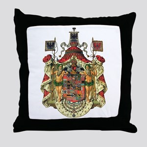 Prussian Coat of Arms Throw Pillow