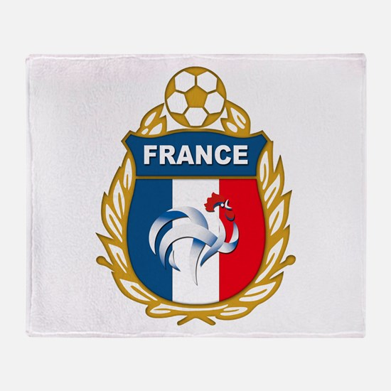 France Throw Blanket