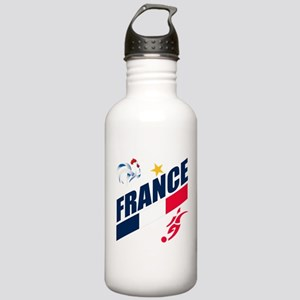 France World Cup Soccer Stainless Water Bottle 1.0