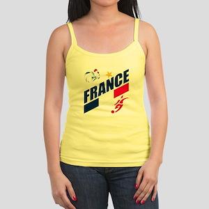 France World Cup Soccer Jr. Spaghetti Tank