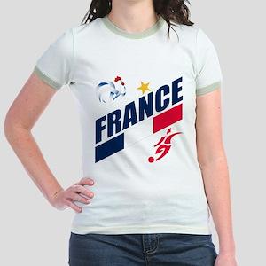 France World Cup Soccer Jr. Ringer T-Shirt