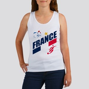 France World Cup Soccer Women's Tank Top