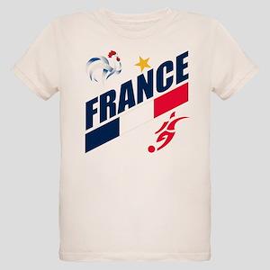France World Cup Soccer Organic Kids T-Shirt