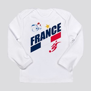 France World Cup Soccer Long Sleeve Infant T-Shirt