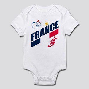 France World Cup Soccer Infant Bodysuit