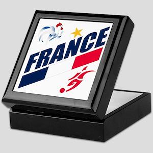 France World Cup Soccer Keepsake Box